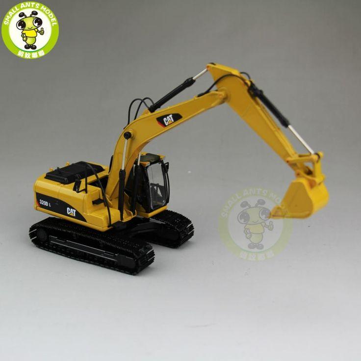 47.41$  Buy here - http://alirow.worldwells.pw/go.php?t=32763960697 - 1/50 CAT Caterpillar 55214 320D L Hydraulic Excavator Diecast Model Car