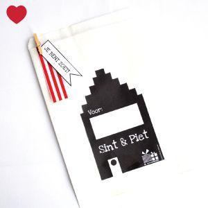 Maak je eigen schoencadeau met onze witte cadeau zakjes + gratis printable