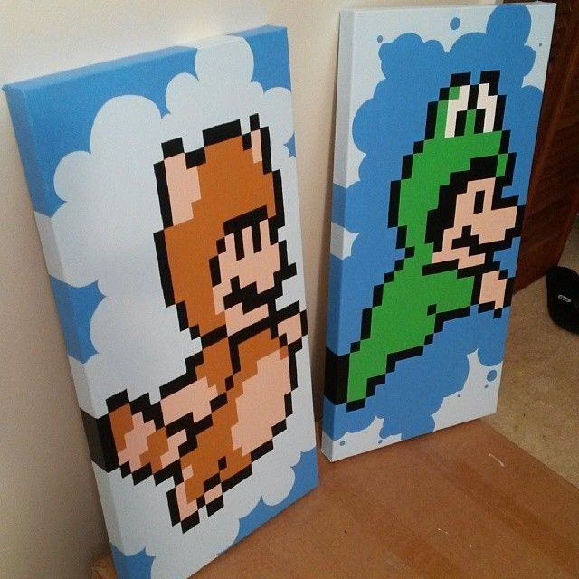 Awesome mario painting!