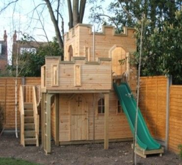 Outdoor Play Castle | Price: £8,432 Including VAT, Delivery & Installation