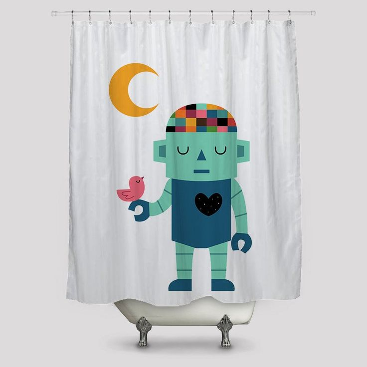 Nature and Future Shower Curtains http://www.toko6.com/products/nature-and-future-shower-curtains
