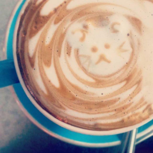 ☕Bear Latte   #latteart #cute #barrista #barristaart #artist #latte #coffee #cafe #gusto #coffeeart #coffeetime #preworkout #gym #morningcoffee #caffiene #coffeeholic #flatwhite #soylatte #cappuccino #work