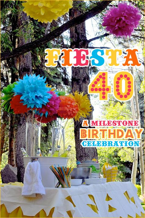 REAL PARTIES: Fiesta 40 Birthday Party