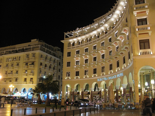 Thessaloniki - Greece. Walked through there every day. Great restaurants!