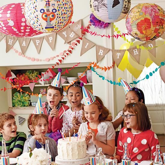 Our festive garlands & hanging decor  will really help your birthday party decorating take shape.
