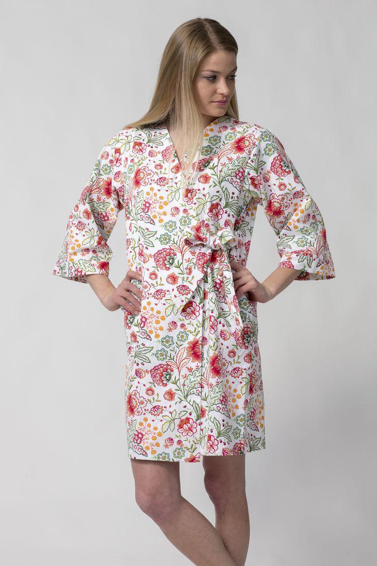 Silk Chinese Robes Designer: Sue Morgan   Fashideas.com