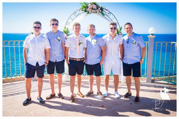 The groom and his groomsmen! #storystudios