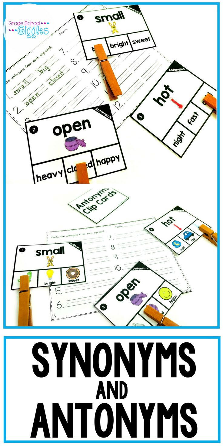 Best 25 antonyms worksheets ideas on pinterest synonyms and synonyms and antonyms task cards biocorpaavc