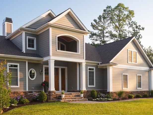 Don T Compromise On Siding Celect Cellular Composite Siding By Royal Gives You Everything You W House Exterior Exterior House Remodel House Designs Exterior