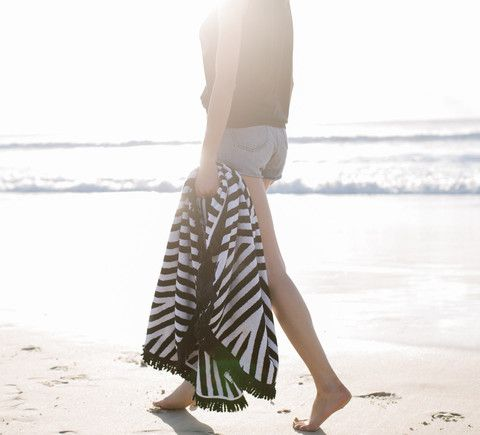 Paloma Round Towel | The Beach People from Salt Living