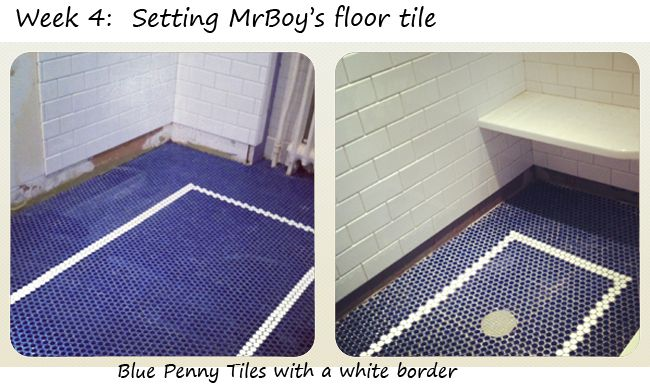 Penny Tiles Badkamer : Badkamer lichtblauw ecosia