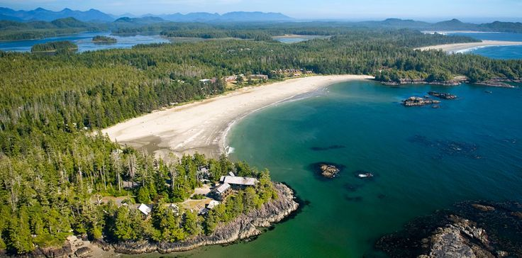 Tofino, BC - plenty of white sand beaches for strolling, surfing (wear a wetsuit!) and beach-combing. Galleries, a great bakery, vast ocean, whale-watching, kayaking... And there is Middle Beach Lodge, which is worth a wee splurge. Beautiful spot.