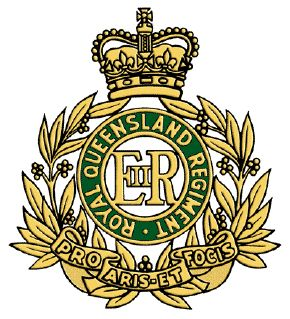 Royal Queensland Regiment.
