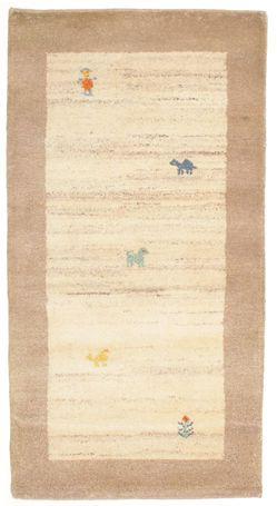 Gabbeh Indisch Teppich 74x139