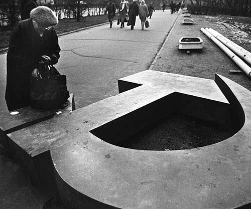 The Fall of the Soviet Union in rare pictures, 1991