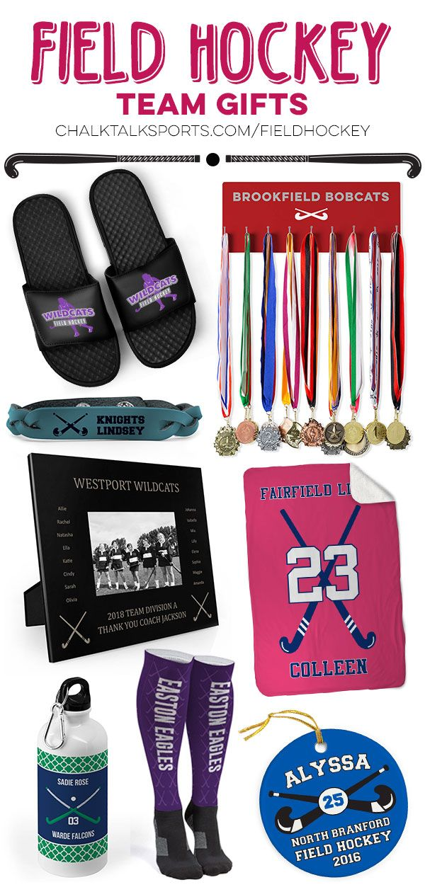 We Have An Awesome Selection Of Team Gift Ideas For Field Hockey Players Of All Ages Personalized Options Availabl Field Hockey Team Gifts Field Hockey Hockey