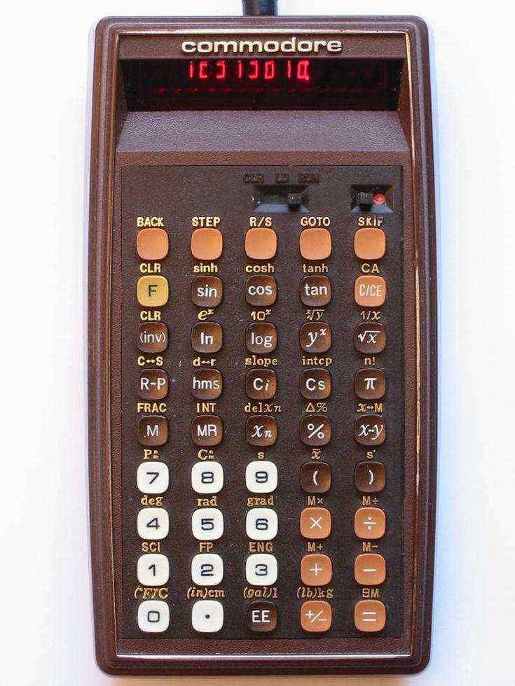 Calculatrice programmable PR100-M - Commodore - 1977