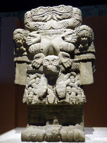 Mexico Musée Coaticlue