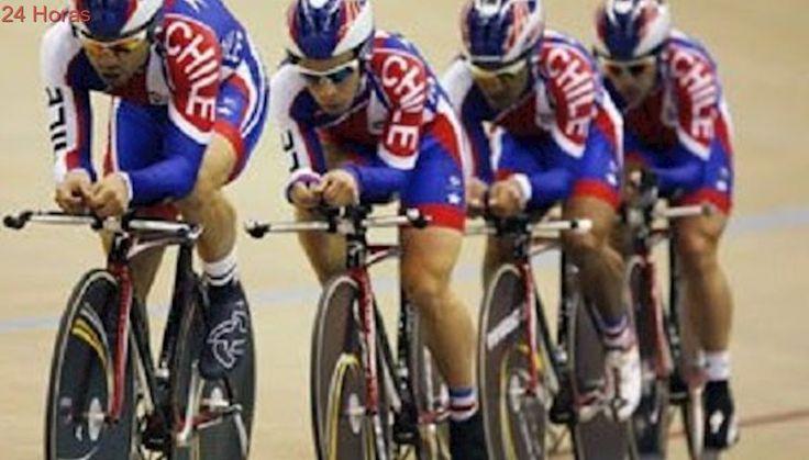 Equipo chileno se quedó con la medalla de bronce en el Panamericano de ciclismo en pista