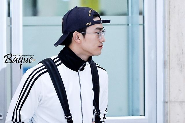 140908 Taecyeon at Gimpo Airport back from Japan