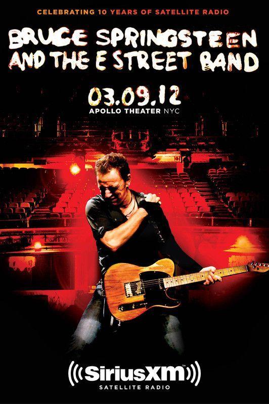 Bruce Springsteen - Apollo Theater NYC 2012 - Mini Print
