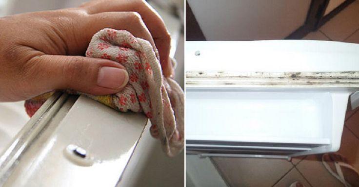 Comment faire disparaître la moisissure sur les joints du frigo!: