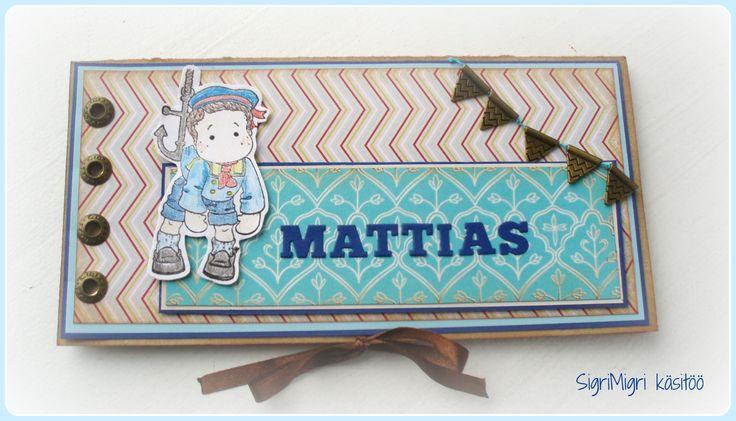 birthday card with chocolate box