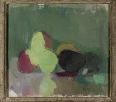 Stilllife with Blackening Apples Helene Schjerfbeck......so simple, but so good!