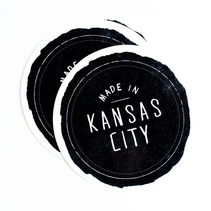 Made in kc stickers