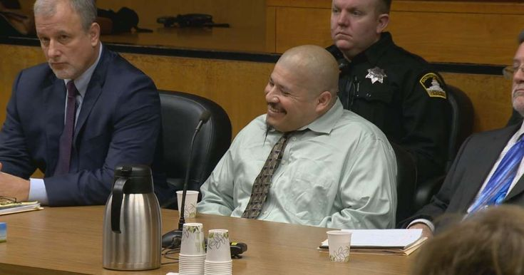 A man who was arrested in the 2014 killings of two Northern California deputies appeared in court Tuesday, laughing, smiling and shouting out that a deputy was a coward as the prosecution laid out the timeline of the crime spree that spanned Sacramento and Placer counties. Luis Bracamontes, who was in the country illegally after having previously been deported twice to Mexico, is on trial in the shooting deaths of Sacramento County sheriff's Deputy Danny Oliver and Placer County sheriff&#...