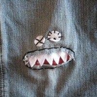 o que fazer com as calças furadas.