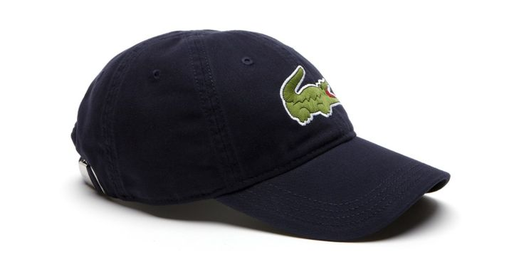 Lacoste - Large Embroided Croc Cap - Navy