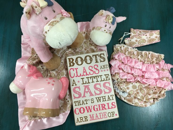 Boots and Sass Western Baby Girl Box - Ponies and Ruffles