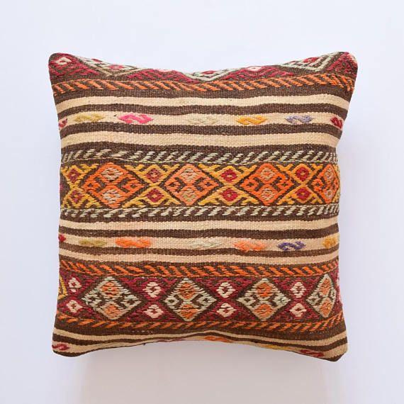 Federe Per Cuscini 60x60.Cuscino Kilim Cuscino Marocchino Fodera Per Cuscino Kilim Cuscino