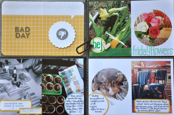 Crafts and memorykeeping: Project Life 2014 | Week 11 with March A day in the life kit from Cocoa Daisy