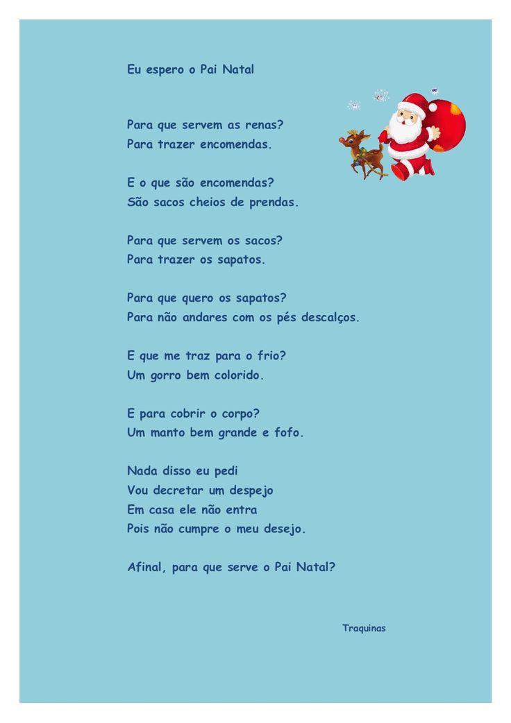 Lengalenga de Natal -  Eu Espero o Pai Natal by Teresa Rocha via slideshare