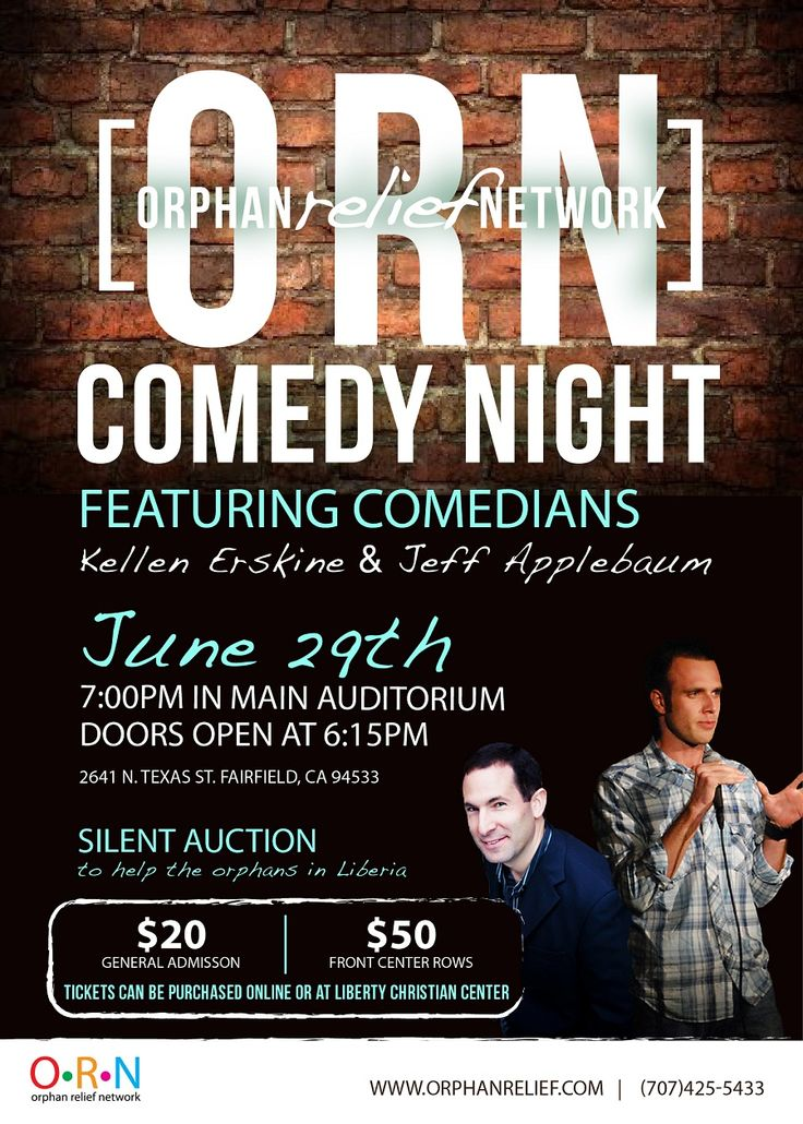 comedy night fundraiser flyer www pixshark com images