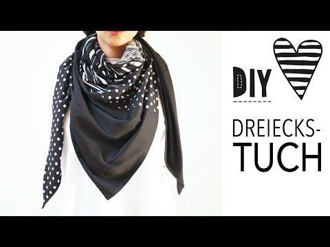 DIY MODE | XXL Dreieckstuch nähen