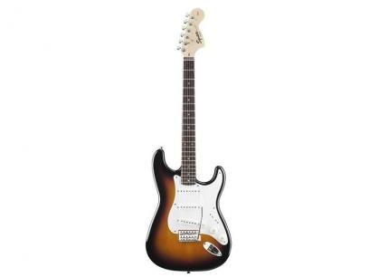 Guitarra Squier By Fender Strato Affinity - Sunburst com as melhores condições você encontra no Magazine Raimundogarcia. Confira!