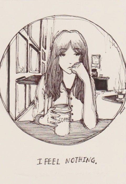 I feel nothing
