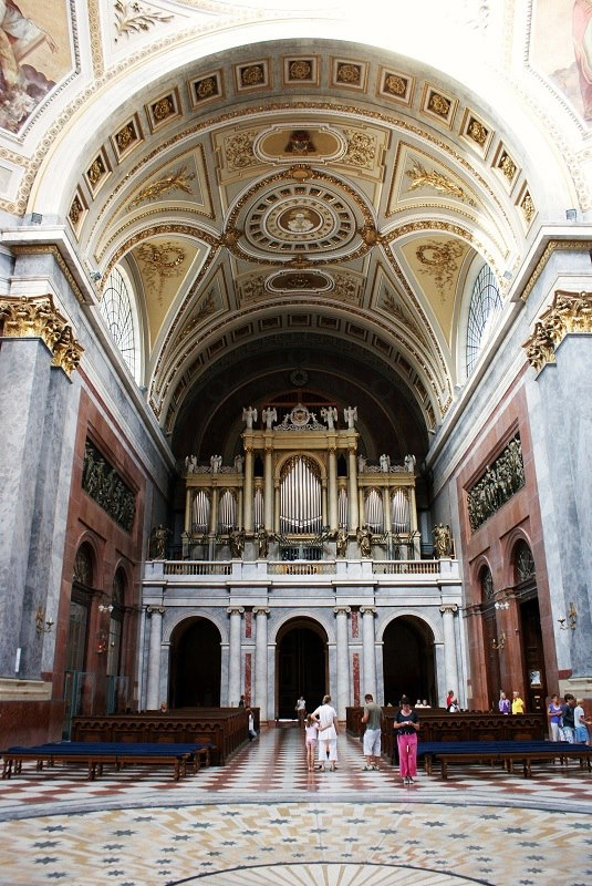 Interior of the Basilica of Esztergom