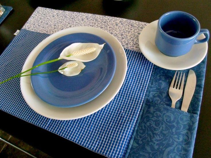 Casa al mare Patchwork: Na mesa? Azul!
