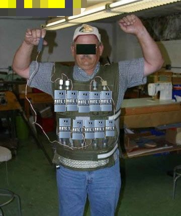 The New note 7 bomb vest