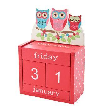 Owls On A Branch Perpetual Calendar | Sass U0026 Belle At Edora · Bedroom  AccessoriesPerpetual ...