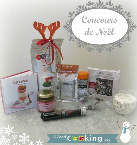 Concours de Noël : panier gourmand A good cooking day