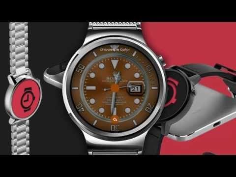 Interactive Rolex Submariner Watch Face   WatchMaker Premium