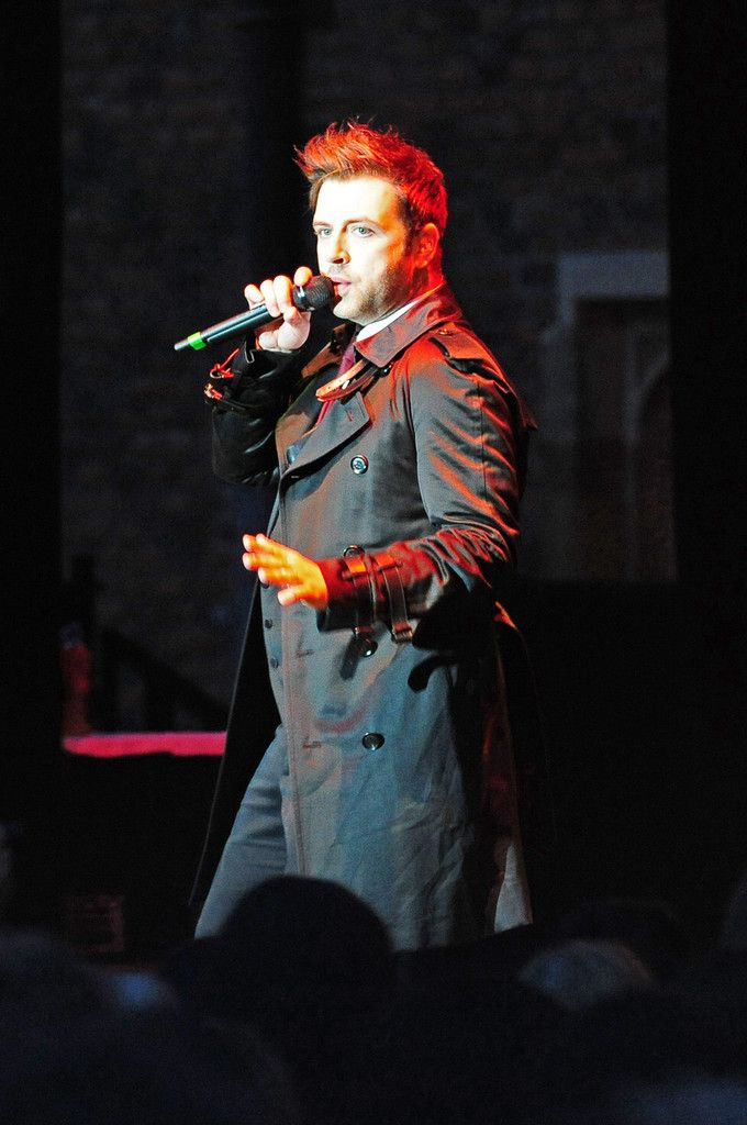 Mark Feehily of Westlife sings in concert at the 2011 Hampton Court Palance Festival in London.