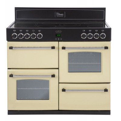 Belling Classic1100E Electric Range Cooker Free Standing Cream