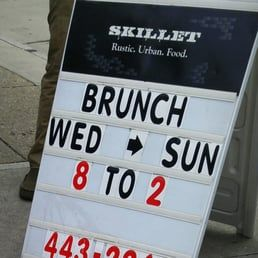 Photo of Skillet - Columbus, OH, United States. Delicious brunch hours
