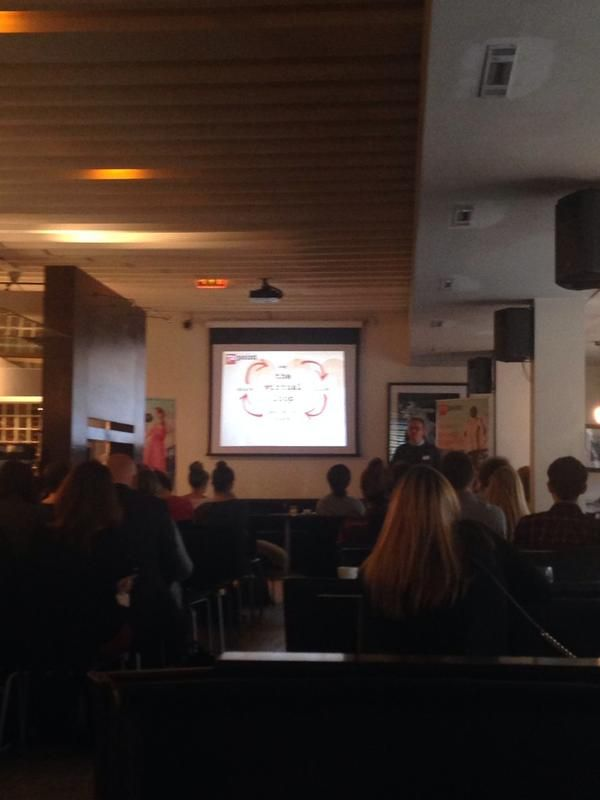 Sam, our SMO expert,  presenting at the #72seminar in Manchester. #Nov2014